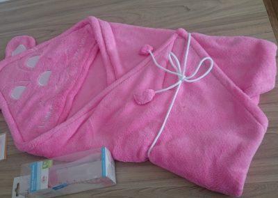 Kojenecká deka - zavinovačka 2