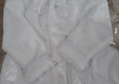Kojenecký kabátik s čiapočkou