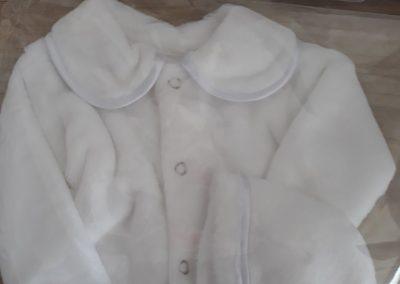 Kojenecký kabátik s čiapočkou 2