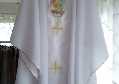 Ornát biely Božie Milosrdenstvo
