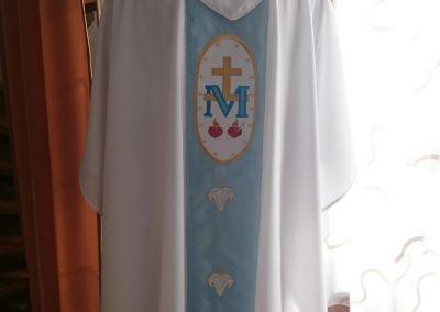 Ornát Mariánsky zadný diel